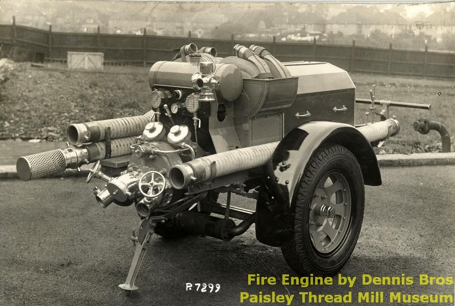 Fire Engine by Dennis Bros