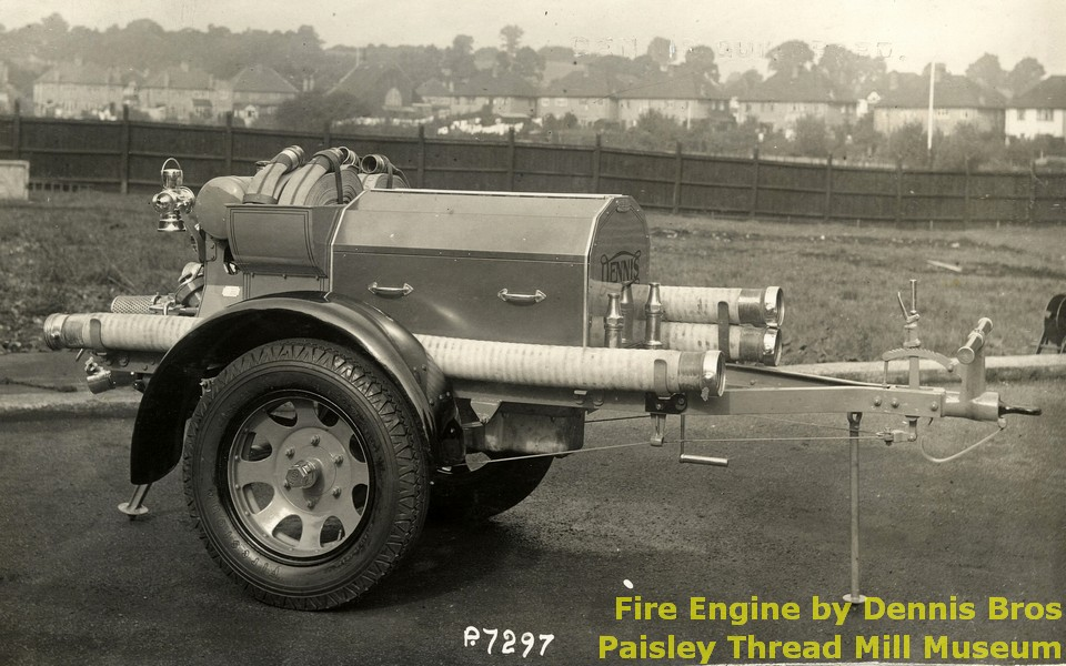 Fire Engine by Dennis Bros